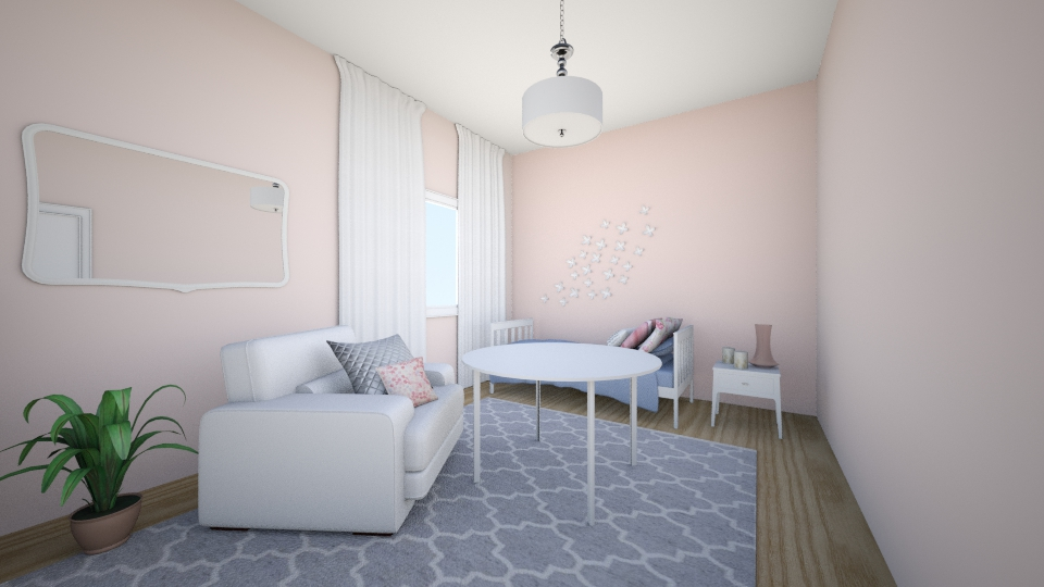 pink and sweet  - Modern - Kids room - by nutka