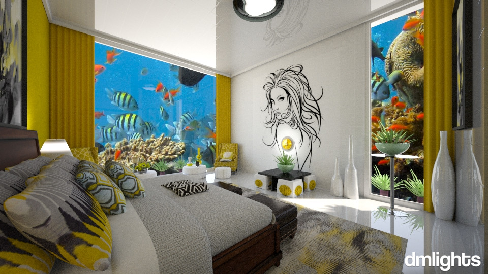 Oceano - Bedroom - by DMLights-user-994540