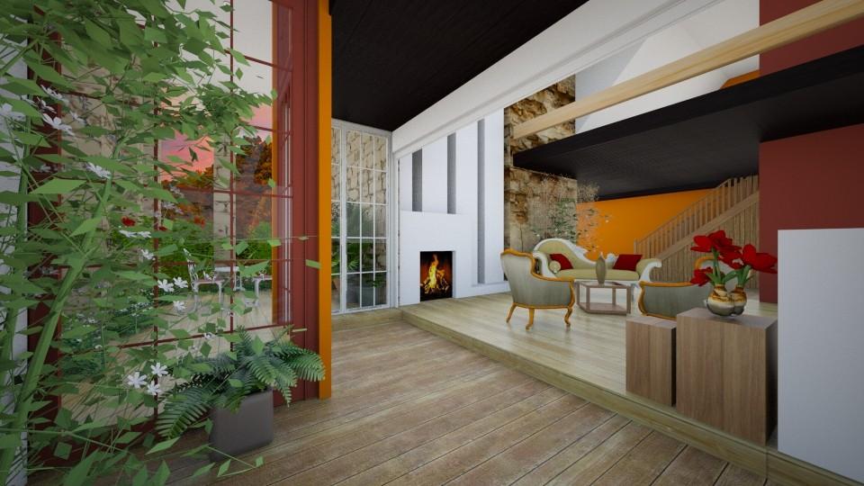 Vintage Modern Loft - Modern - by Milagros Rossi Martino