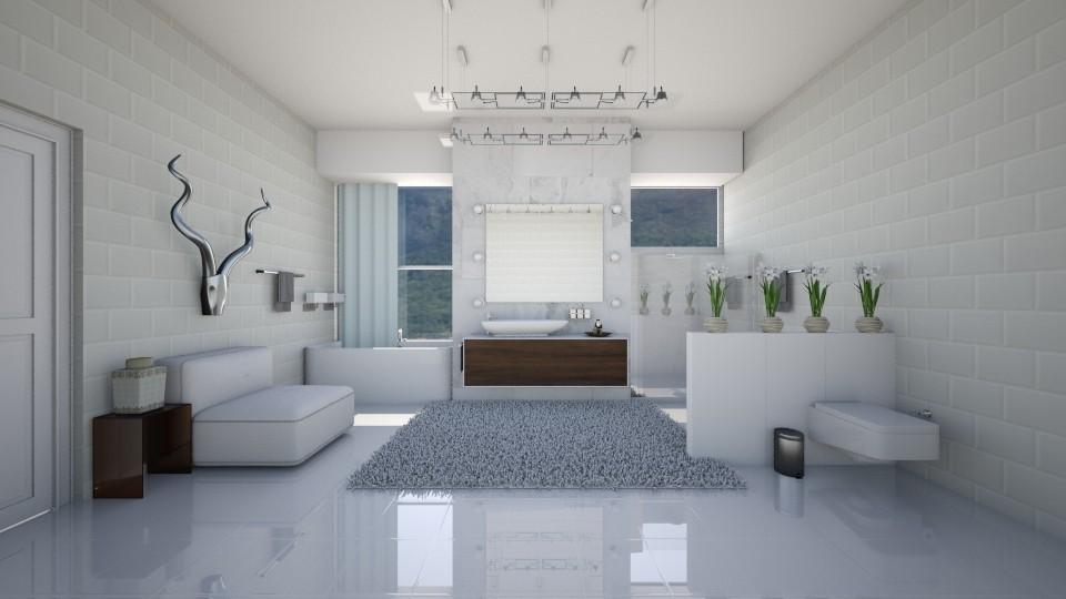 kit v - Bathroom - by camivieira94
