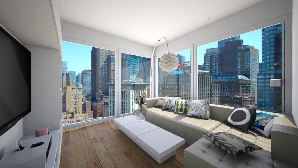 APARTMENT CLASSIC - Living room - by Monica V Seke