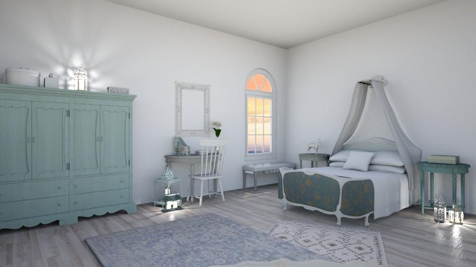 bedroom - Bedroom - by REGINA100