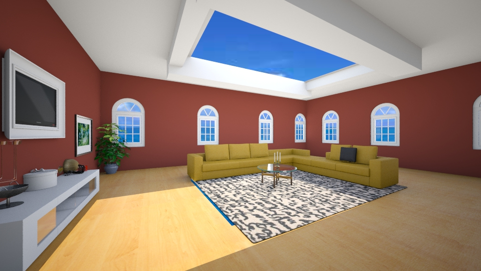 Skylight - Living room - by Ankica99M