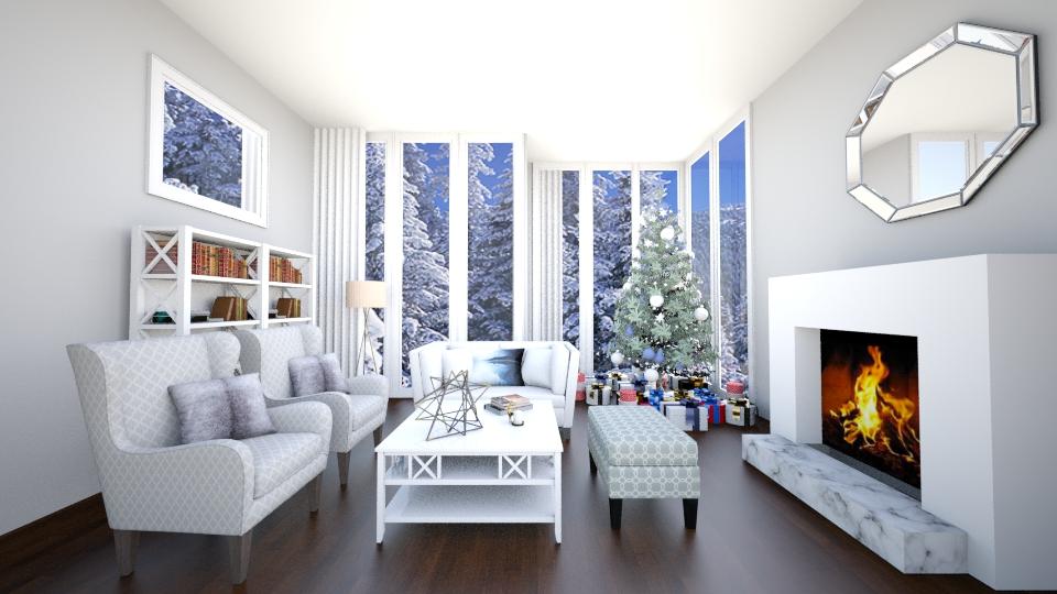 Winter Wonderland  - Living room - by jessicabaucke