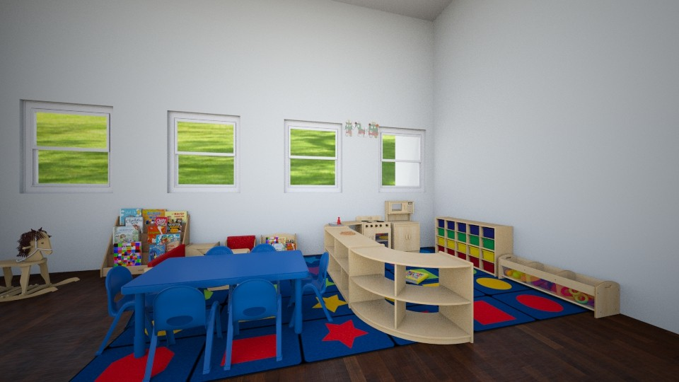 Family House Play Bedroom - Bedroom - by d4so9h