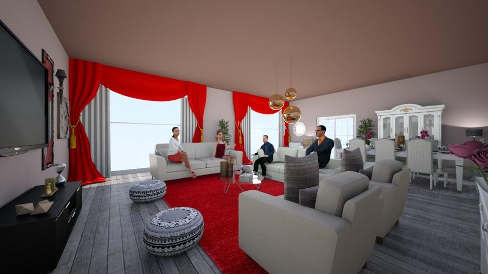 sousou - Living room - by louahdi abir