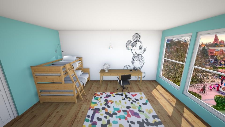 Disney Room - Kids room - by jmeyer2x4