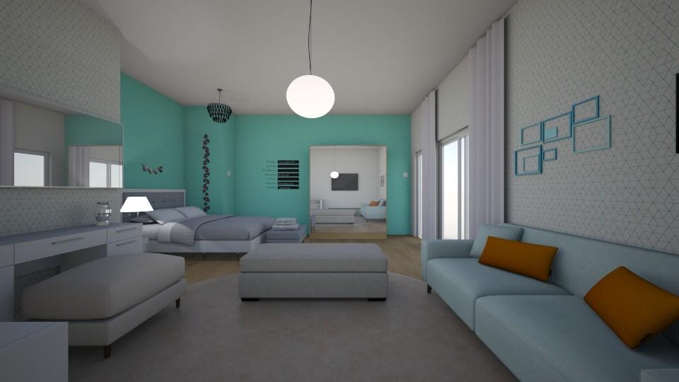 bedroom - by anaclaraalvesjianelli