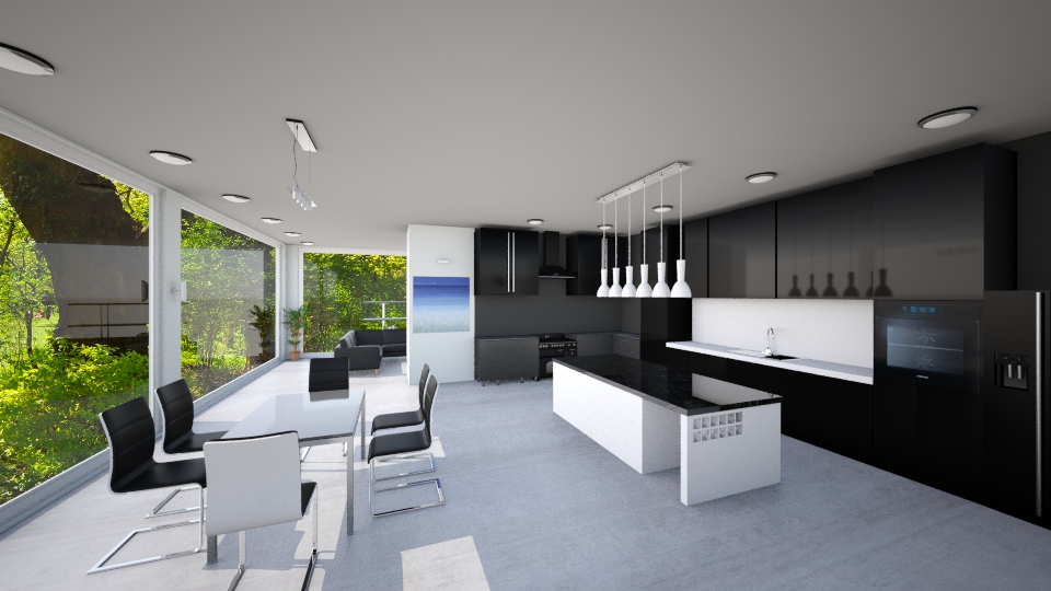Luminence - Modern - Kitchen - by Mythrintia