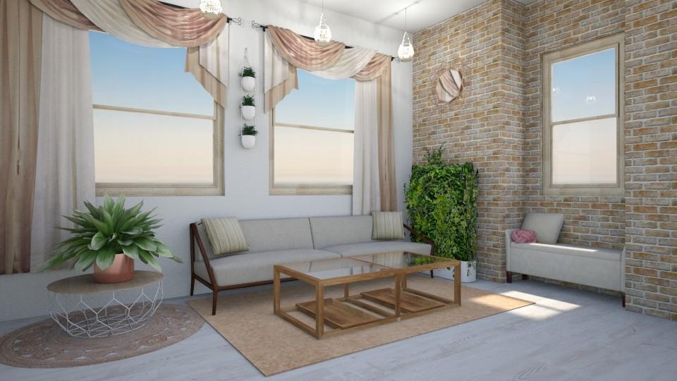 Simplicity Living - Minimal - Living room - by seasidepine