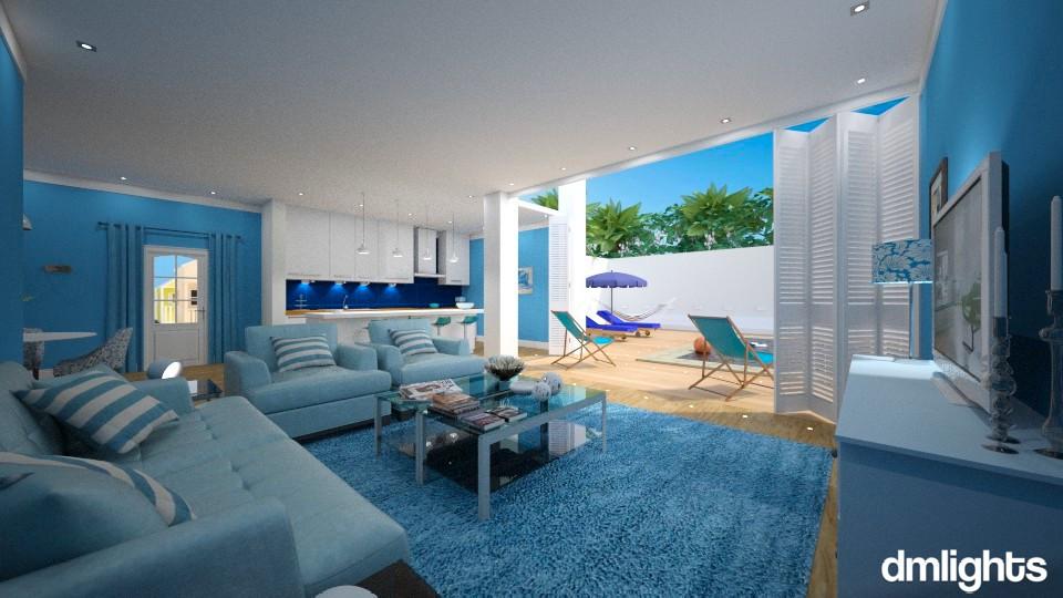 Vila Nova de Milfontes - Modern - Living room - by Claudia Correia