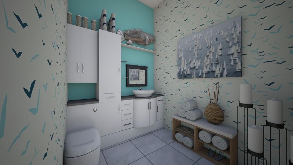 1st floor bathroom - Bathroom - by chloeeeebushesss