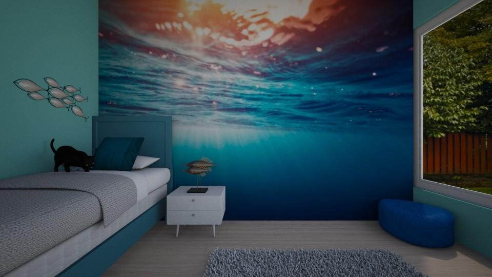 ocean room  - Bedroom - by ckjewell