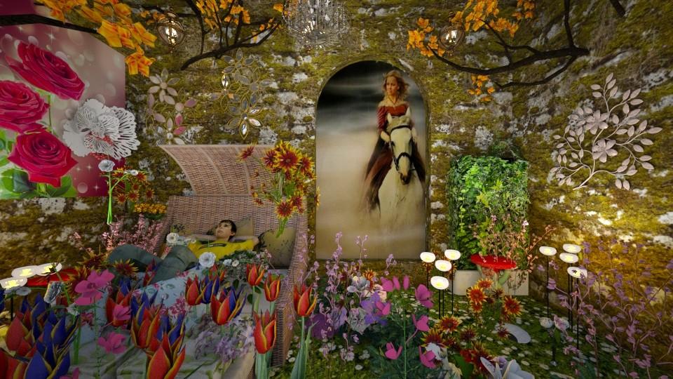 HE eat apple - Eclectic - Garden - by Orionaute
