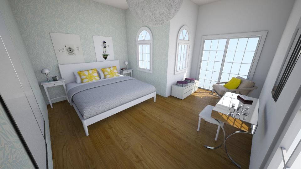 Rachel Bridge - Bedroom - by rachelbbridge