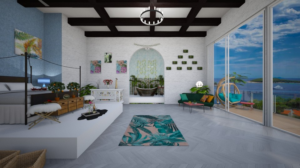 Welcome to Ibiza - Modern - Bedroom - by Dragana2212