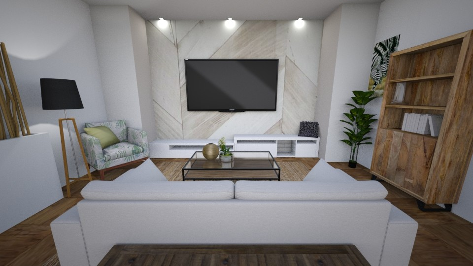 Scandi Livingroom - Living room - by KimAlys