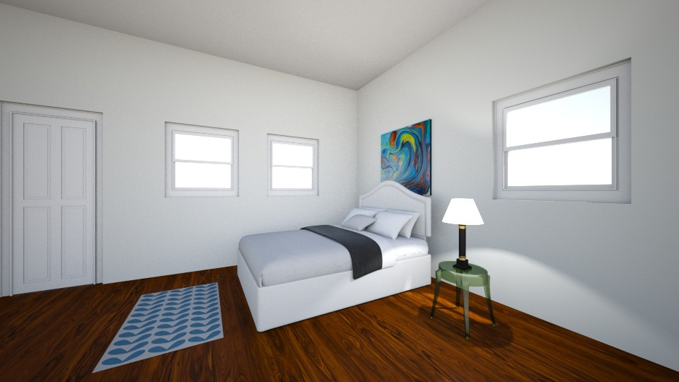Guest Bedroom 2 - Modern - by PiggyLover316