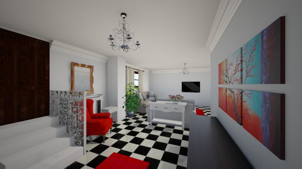 test 05 - Living room - by Maria Eleni Bataki