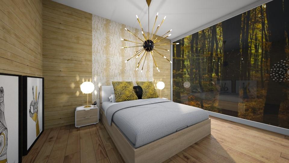 Clock Bedroom - Bedroom - by GinnyGranger394