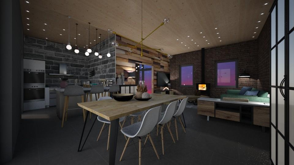MC113 Dining Room - by Shuu Dark