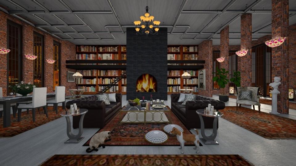Warehouse Elegance - by lydiaenderlebell
