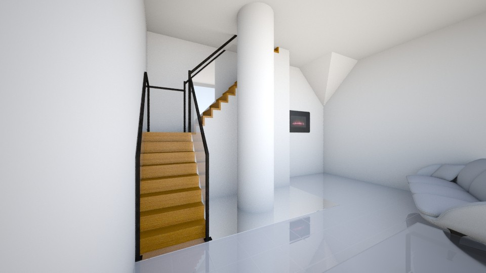 Living Room - Modern - Living room - by KKIsCrazyAF