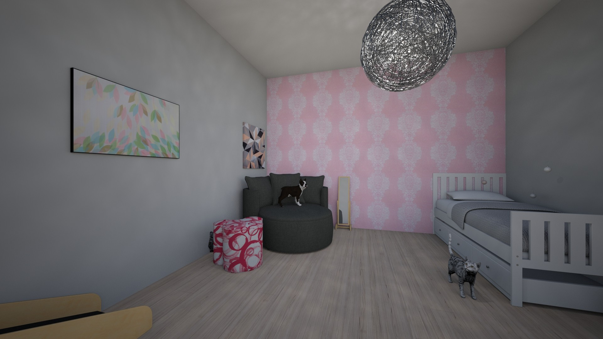 Hayden New Room - Bedroom - by Jaderoni