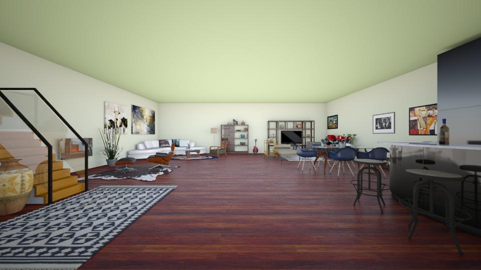 playboy pad - Living room - by Charlotte Aliceee