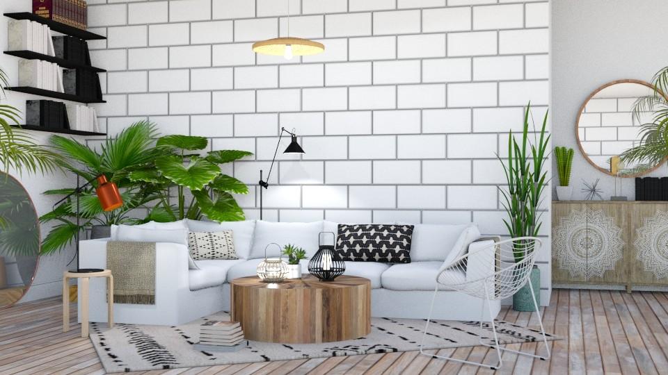 Boho - Living room - by lovedsign