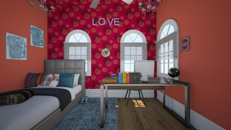 bed - Bedroom - by kenzielu