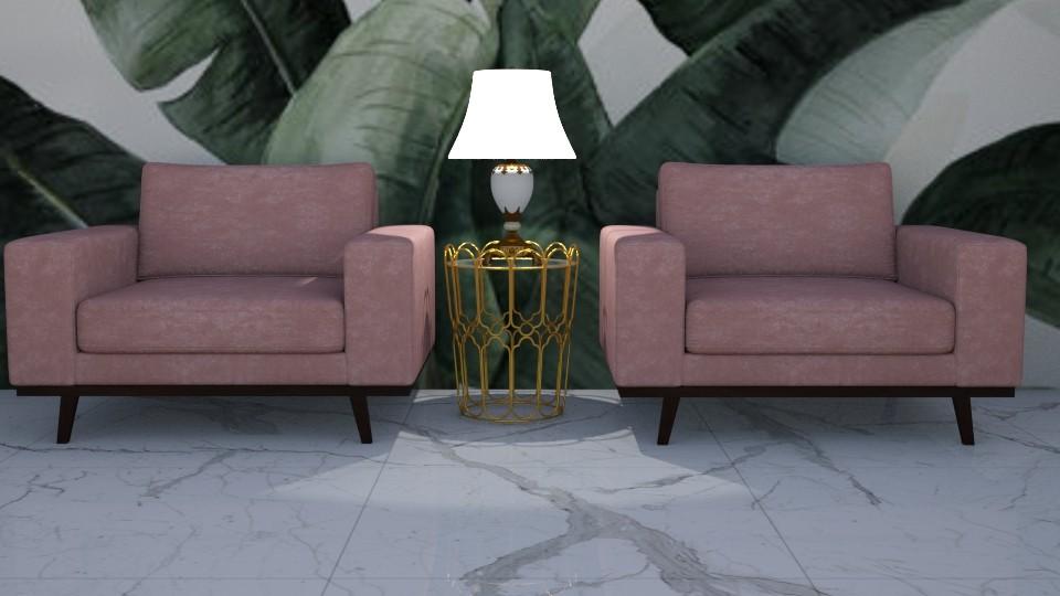 pink 1 - Living room - by zrinkaroso