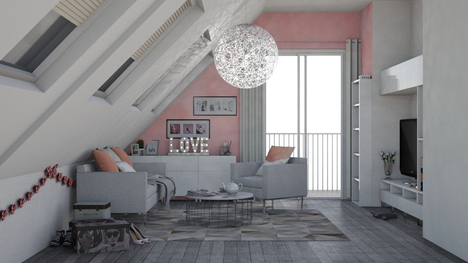 LOFT LIVING ROOM - Bedroom - by sillvie