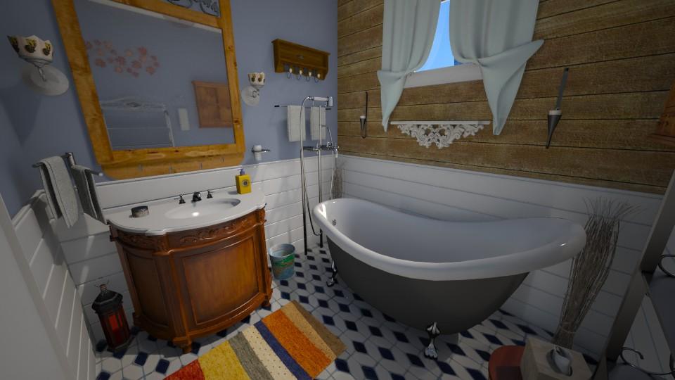 new apt - Bathroom - by sally89