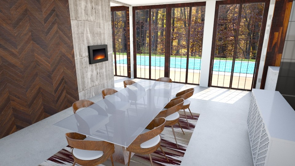 hillhome2_3 - Dining room - by Breely Graves