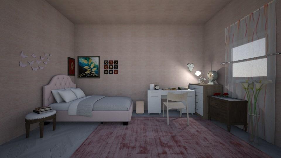 pink  - by haya okdeh