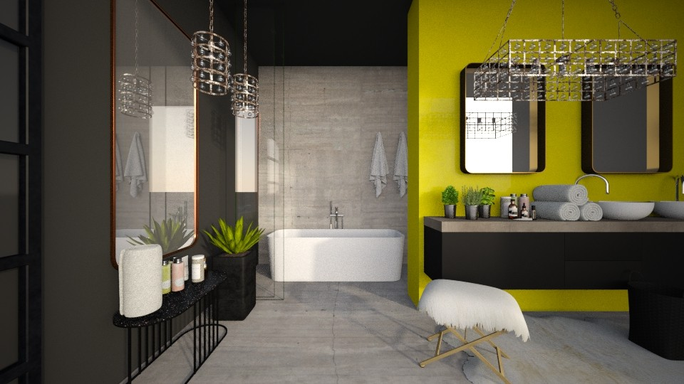 eclectic - Eclectic - Bathroom - by MiaM