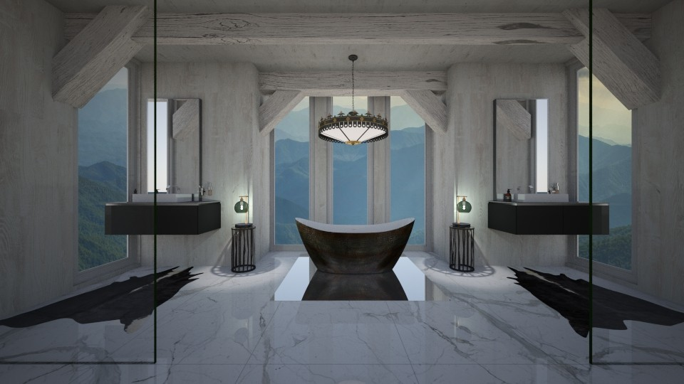 bathroom 2 - Bathroom - by ariel88
