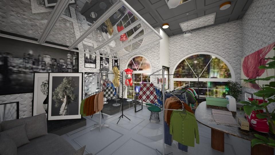 Fashion Room - Feminine - Office - by Tiany Gullatt