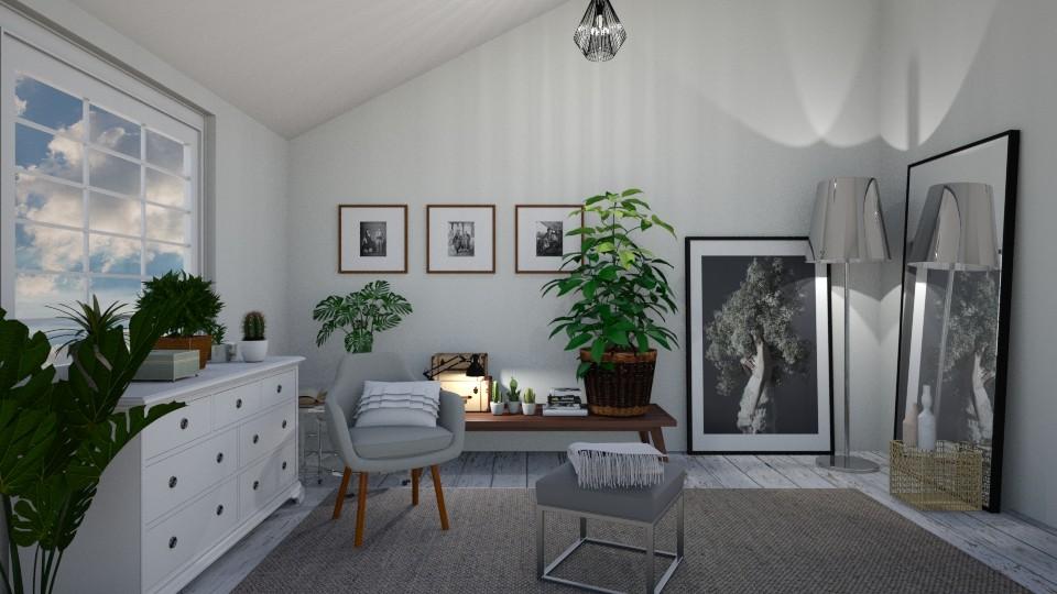Attic - Bedroom - by dorota_k