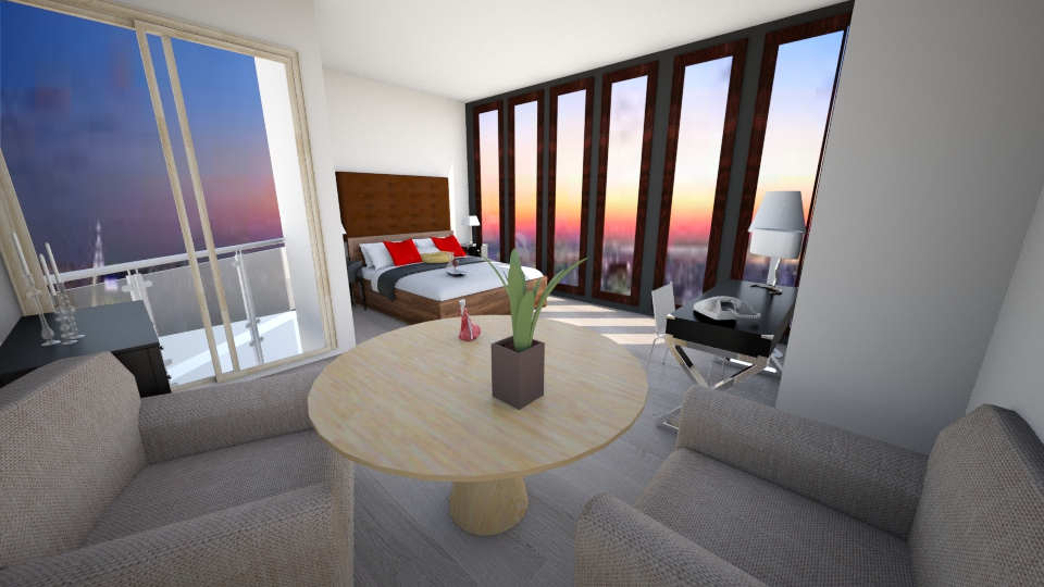 Hotel - Bedroom - by amybranco