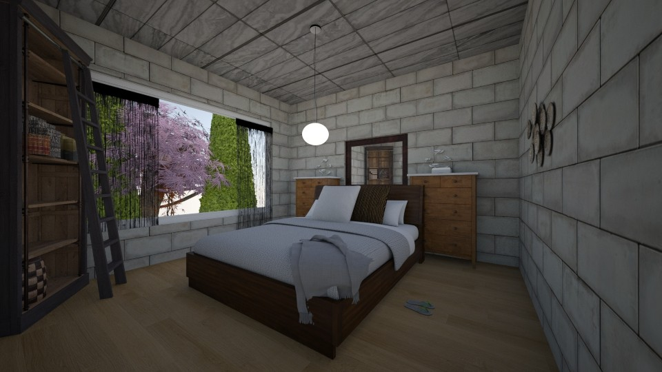 master bedroom - by opugzo