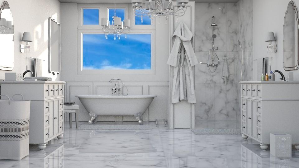 The Hamptons - Classic - Bathroom - by Kathran