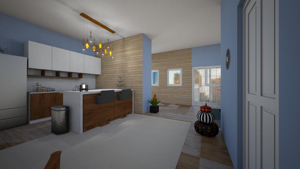 Flat 1 - Modern - Kitchen - by Isaacarchitect