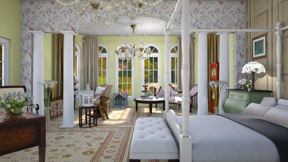 Victorian Bedroom  - Vintage - Bedroom - by Vanessa_D