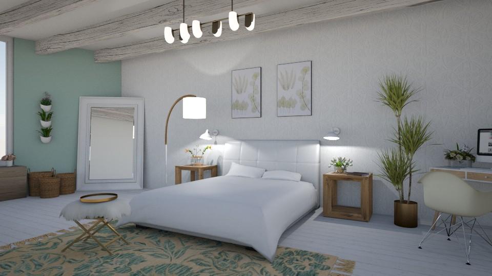 Meadow Inspired - Bedroom - by LaughingDonut