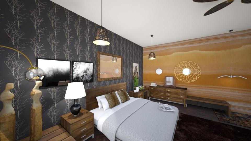 CBA - Bedroom - by sosna