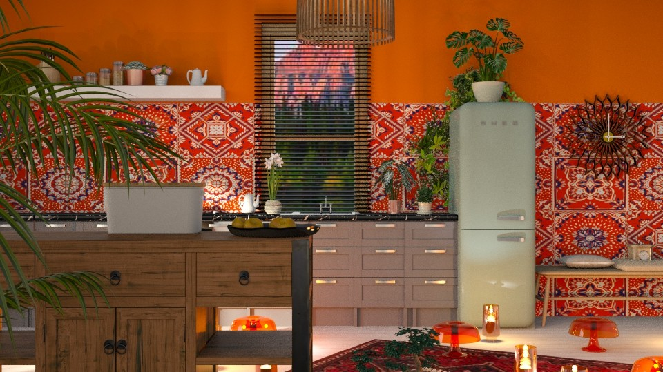 Bohemian          Kitchen - by jasmin_jasmin