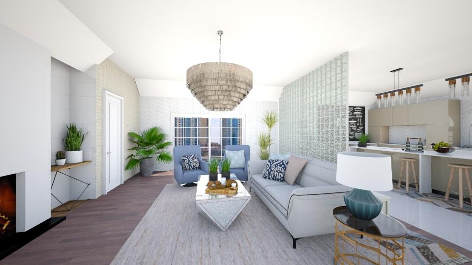 h - Living room - by Sara Flores