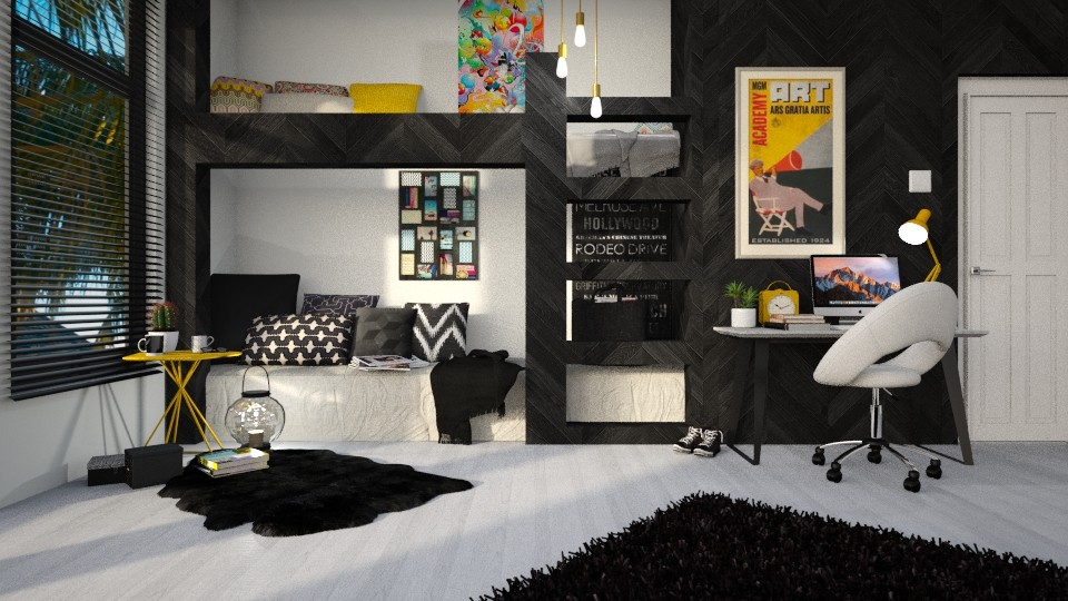 bunk bed - by anjaam